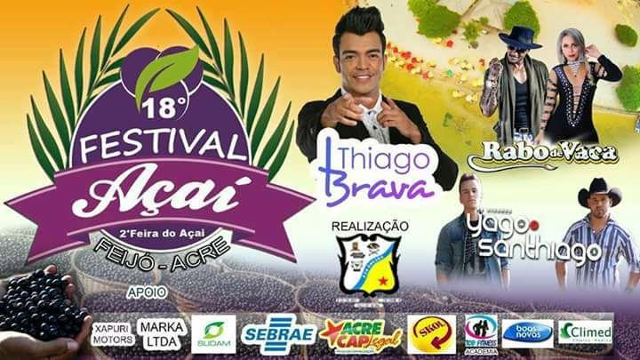 Expectativa para o 17º Festival do Açaí